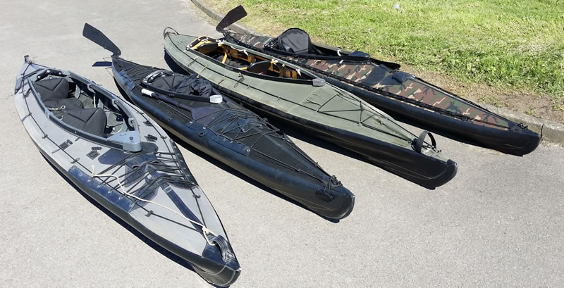 Folding Kayaks UK - Folding kayaks (Kleppers) hire for films