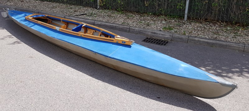 LFB Stern WZ 60 double seater folding kayak